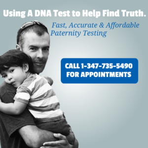alleged father and child dna test