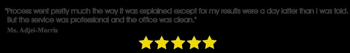 ny customer review