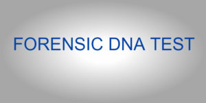 forensic dna test